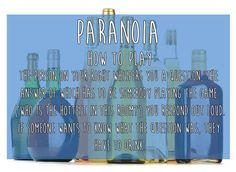 Paranoia   15 Simple Drinking Games Every Fresher Should Know