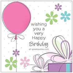 Wishing You A Very Happy Birthday Image Birthday Cards For F Birthday Wishes For Mother, Happy Birthday Art, Free Birthday Card, Happy Birthday Celebration, Best Birthday Wishes, Happy Birthday Pictures, Happy Birthday Greetings, Birthday Cards Images, Birthday Messages