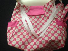 Baby bag with change mat