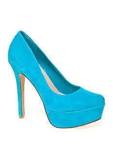 Jessica Simpson Waleo Platform Pumps - Aquadisiac  bought these this weekend, LOVE them.