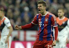 Bayern Munich 7-0 Shakhtar Donetsk: Guardiola's side run riot after Kucher's record red