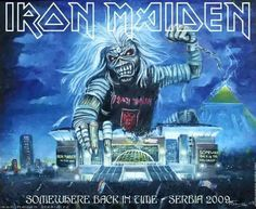 Iron Maiden - Somewhere Back In Time - Serbia 2009
