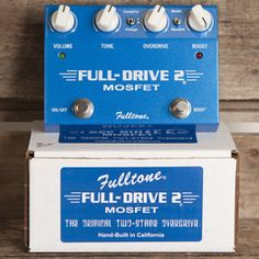 Fulltone Full-Drive 2 Mosfet | Pedals and Effects Available at Garrett Park Guitars | www.gpguitars.com