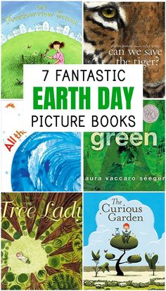 These seven Earth Day Books are interesting, well-written and perfect for starting a conversation with your child about the environment and how we can take care of our earth!