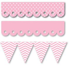 Queen and Company - Self Adhesive Edgers - Cotton Candy at Scrapbook.com $2.99