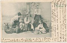 Веб-Портал Музеев - Postkaart. Poltaava. Kobzar. 1907.