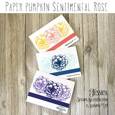 Stamp a Blessing: Paper Pumpkin Sentimental Rose Stampin Up Paper Pumpkin, Pumpkin Cards, Paper News, Wink Of Stella, Pumpkin Ideas, Buy Roses, Cellophane Bags, Graphic 45, Ink Pads