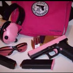 Glock 9mm for girls! Love it!