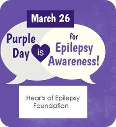 CURE 4EPILEPSY! Wear Purple Day, Epilepsy Awareness, Seizures, Know Who You Are, Surgery, Depression, Anxiety, Brain, The Cure