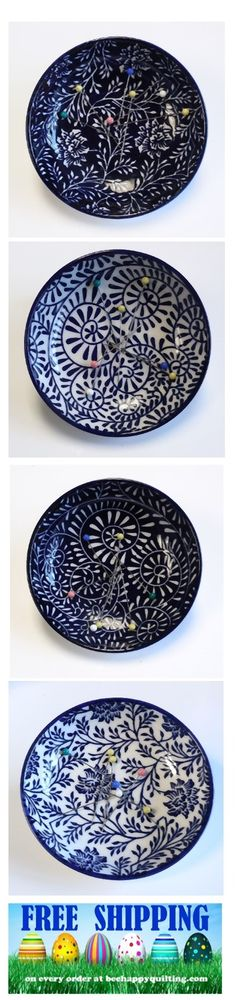Check out these magnetic pin dishes. Perfect for dressing up your sewing room or use for paperclips in your office. Keeps everything neat and tidy. FREE SHIPPING this week at beehappyquilting.com