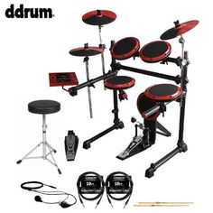 ddrum DD1 Complete Electronic Drum Kit with Earbuds, Drumsticks, ChromaCast Cables & Drum Throne  http://www.instrumentssale.com/ddrum-dd1-complete-electronic-drum-kit-with-earbuds-drumsticks-chromacast-cables-drum-throne/