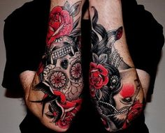 Forearm Tattoos I like the colours