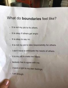 Setting Boundaries with adult children, healthy boundaries in relationships, friends, family, workplace is a must. Check Setting Boundaries quotes and FAQs. Quotes To Live By, Me Quotes, Motivational Quotes, Inspirational Quotes, Hand Quotes, Boundaries Quotes, Setting Boundaries, Mbti, Infp