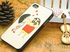 Shin Chan iPhone 4, 4s hoesje, case , cover