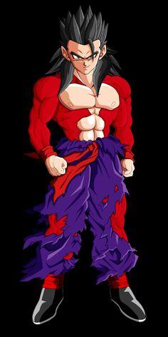 Dragon Ball Gt, Gogeta And Vegito, Dbz, Anime Art, Superhero, Fictional Characters, Shirt, Anime Characters, Ssj 4