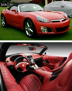Saturn sky. The inside of my sky is solid black and it's auto transmission. #windscreens #saturnSky http://www.backblade.net/