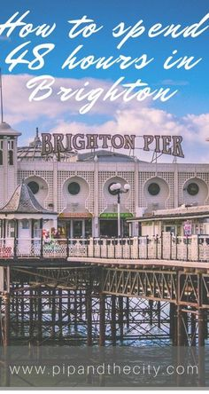 How to spend 48 hours in Brighton. Including things to see and do in Brighton, places to visit including Cabaret show and Royal Pavilion. Brighton is now a cosmopolitan and vibrant hangout town, perfect for a weekend getaway with shopping, street art and Weekend Trips, Weekend Getaways, Brighton England, Visit England, Royal Pavilion, Voyage Europe, Travel Guides, Travel Tips, Types Of Photography