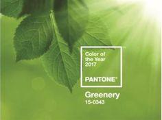 ... och vinnaren blev färgen Greenery – en ärtgrön nyans.