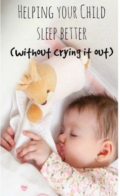 One of the biggest challenges a new parent faces is with a child who won't sleep. Here are a few gentle ways to help them that don't involve crying it out. Cry It Out Sleep Training Baby Kind, My Baby Girl, Baby Girls, Cry It Out, My Bebe, Kids Sleep, Child Sleep, Sleep Help, Toddler Sleep