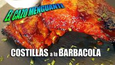 Receta de #Costillas de #Cerdo con Salsa Barbacola, una salsa que no podeis perderos, hecha a base de salsa #Barbacoa y Coca Cola, es una pasada!! Salsa Barbacoa, Tandoori Chicken, Coca Cola, Base, Ethnic Recipes, Food, Ribs, Entrees, Pork