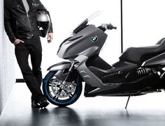 BMW Concept C Motor Scooter