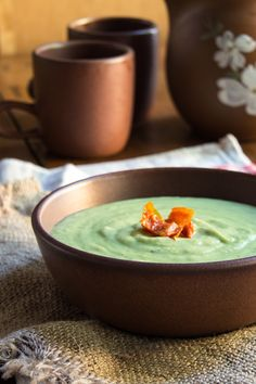 Avocado Soup with To