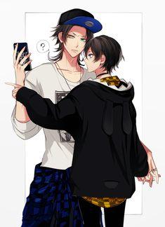 Jirou and Saburou looks cute together 😍 Cute Anime Boy, Anime Guys, Hot Anime, Killua, Mc Lb, Shonen Ai, Lgbt, Rap Battle, Fanart