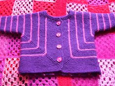cardigan free pattern by DROPS design
