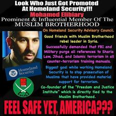 US President's Muslim Brotherhood now running DHS!