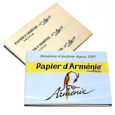 Armenierpapier Myrrhe, Salbei, Lavendel, Zeder - Armenier-Papier - Cleopatra's Duft-Oase