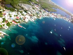 Utila Honduras. I learned to Dive here! Awesome!