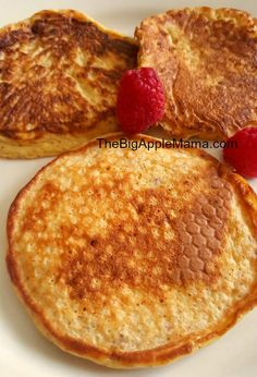 High protein, low carb pancake. Fluffy, packed with nutrition, low in carbs, and gluten free