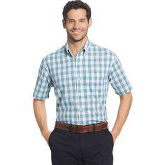 Big & Tall Arrow Coastal Cove Classic-Fit Plaid Button-Down Shirt, Men's, Size: Xl Tall, Blue Other