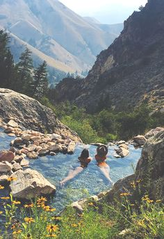 Goldbug Hot Springs.