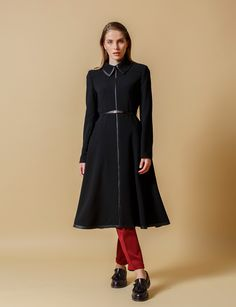 KAYRA ONLINE | A4 14233 TRENCHCOAT BLACK
