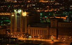 Masonic Temple, Detroit. The largest Masonic Temple in the world.