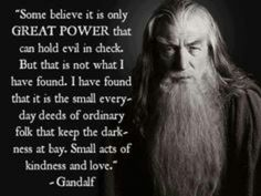 Gandalf, from The Hobbit