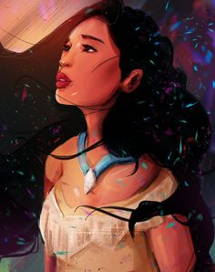Disney fan art, pocahontas и disney. Disney Pocahontas, Pocahontas Dress, Princess Pocahontas, Princess Art, Disney Girls, Disney Princesses, Disney And Dreamworks, Disney Pixar, Disney Characters