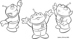 Alien Toy Story Coloring Pages – Coloring for every day Toy Story Coloring Pages, Cute Coloring Pages, Disney Coloring Pages, Free Coloring, Adult Coloring, Coloring Books, Cumple Toy Story, Festa Toy Story, Toy Story Theme