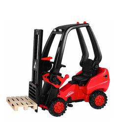 Take a look at this Big Linde Forklift Pedal Ride-On by Big Toys USA on #zulily today!