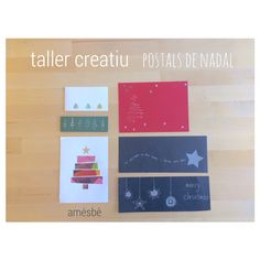 Family woorkshop | creative | xmas card | escola pia | 11.16 #school #family
