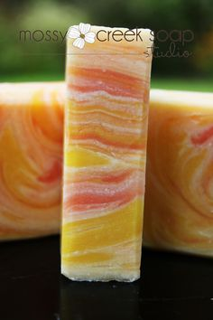 Sunflower Verbena  Handmade Soap Artisan Style by MossyCreekSoaps, $5.95