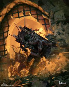 ★ HELLRAID / Ожидаемая компьютерная игра, экшен с видом от первого лица в жанре фэнтези, прототипом для которой послужила одна из модификаций «Dead Island». Студия-разработчик «Techland» известна также по работе над «Dying Light» и «Call of Juarez». / #hellraid / #игры / #новинки