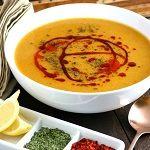 Laktató török vöröslencse leves recept Vegan, Cheeseburger Chowder, Thai Red Curry, Cooking, Ethnic Recipes, Soups, Food, Turkish Recipes, Kitchen