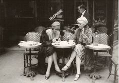 coffee, Paris and friends
