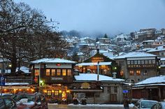 """See 337 photos and 14 tips from 2861 visitors to Μέτσοβο (Metsovo). """"Even if not your original destination - make sure you stop at Metsovo if passing. Our Town, Greece Travel, Planet Earth, Perfect Place, Places Ive Been, Beautiful Places, Around The Worlds, Mansions, Architecture"""