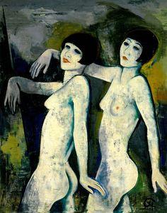 Die Tiller Girls - Karl Hofer