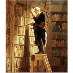 DAUMIER-Le-Rat-de-Bibliothèque