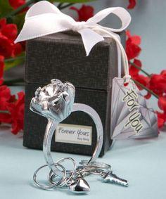 Diamond Ring Design Key Ring Favors