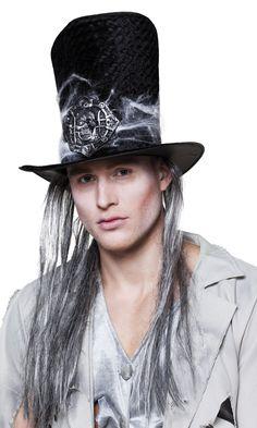 Haudankaivajan hattu hiuksilla